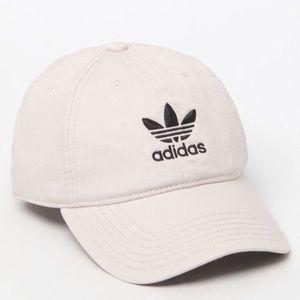 NWT Adidas Originals Khaki Dad Style Cap Hat